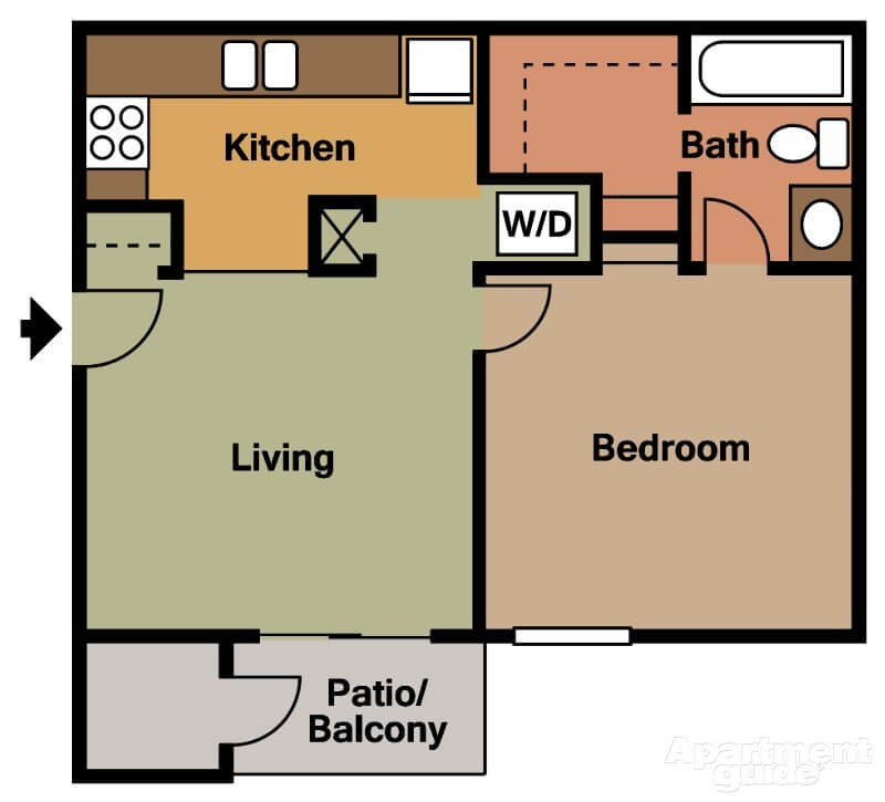 One Bedroom Apartments Columbia Sc: Hunt Club Village Apartments 7502 Hunt Club Road, Columbia