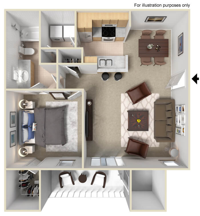 Brentwood Apartments: Brentwood Chase Apartment Homes