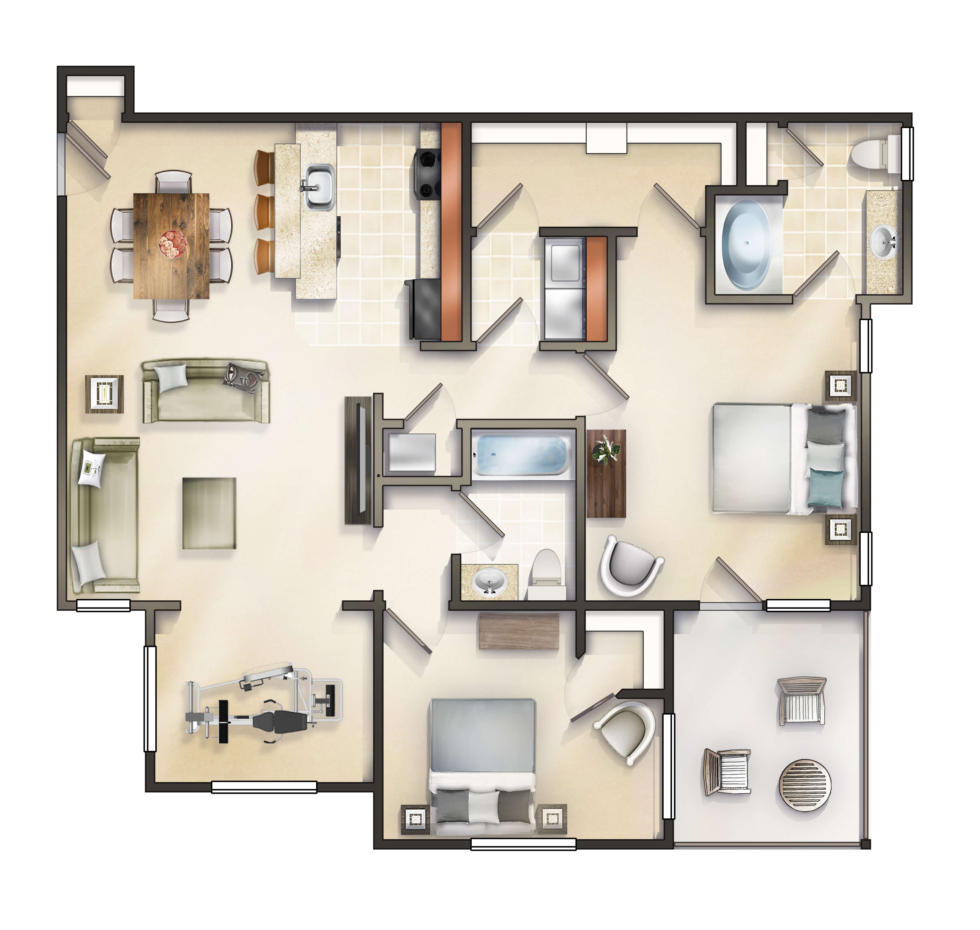 Town Centre Apartment Homes: Groves At Town Center Apartment Homes In Fletcher, NC